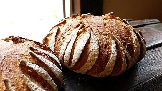 Sunflower Bread  (+ scoring sunflower boule)
