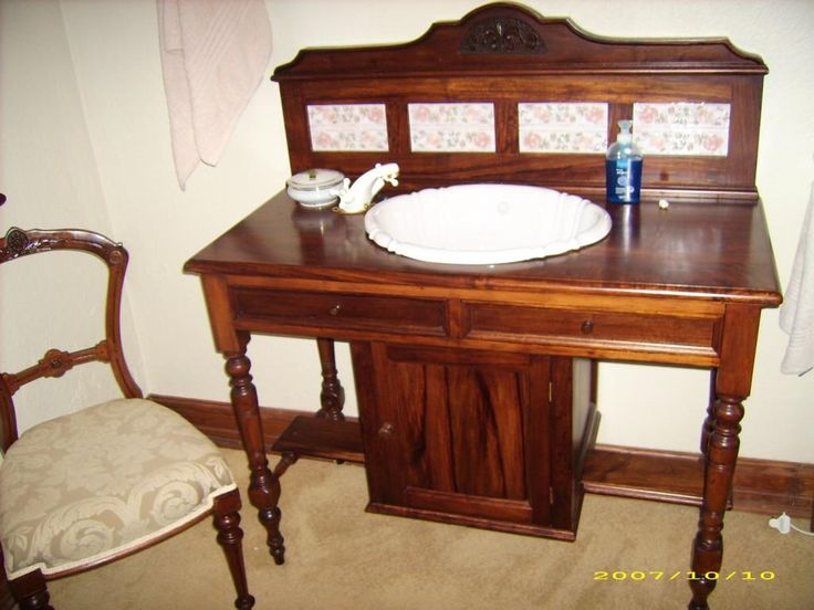 Washstands can be both re-furbished or we can custom design and manufacture one for you!
