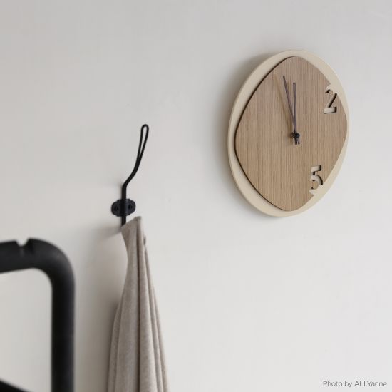 Clock25 - Light Wood - Orologi da parete - Sabrina Fossi Design