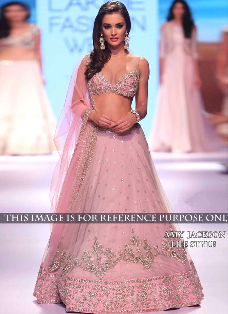 Imposing Zari Raw Silk Pink Designer Wedding Lehenga choli