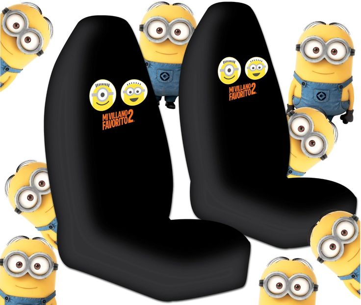 Despicable Me Car Seat Cover