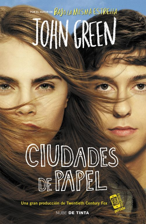 Ciudades de papel de John Green una película diferente, muy recomendable.21-05-2016