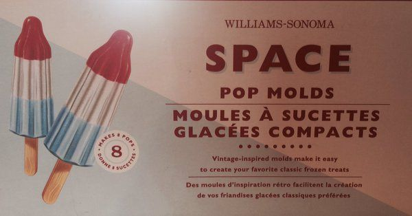 more #williamssonoma rocket pops #glacees  via @puzzlingalong
