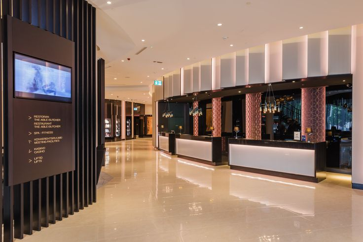 Hotel Hilton Tallinn Park Lobby