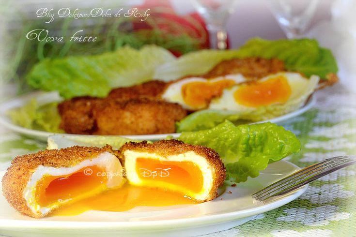 * Uova impanate