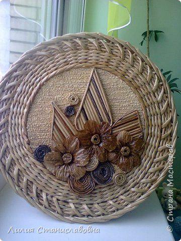 Поделка изделие Плетение Подарочные шкатулки Бумага газетная фото 3