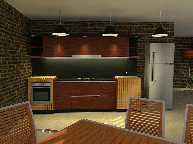 Diseño cocina moderna2