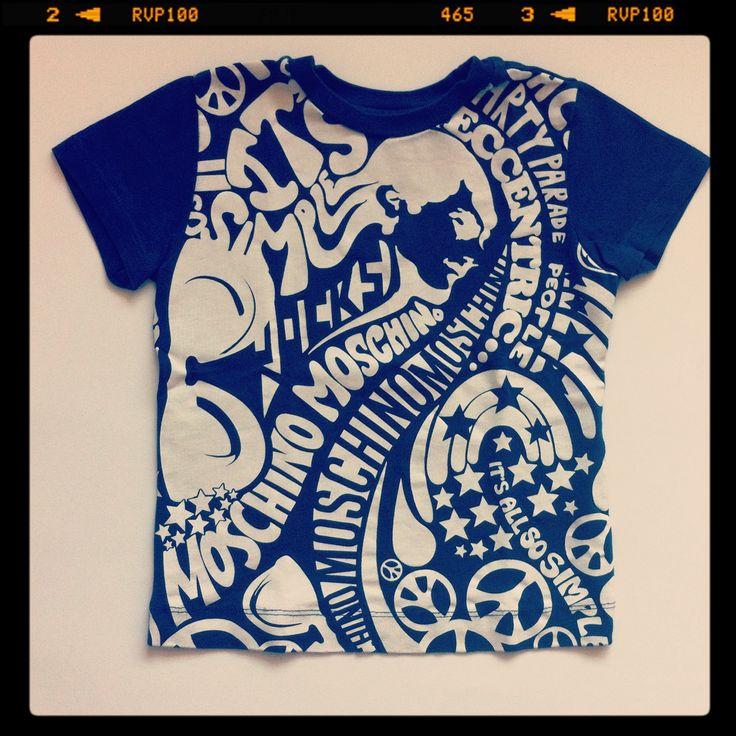 "Moschino ""pop"" printed t-shirt - www.hipmums.it - http://hipmums.it/collections/bambino/meta-filter-tipo-t-shirt"