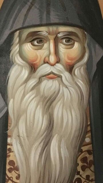 Who could this be? He looks like Saint Arsenios of Cappadocia. I don't know.