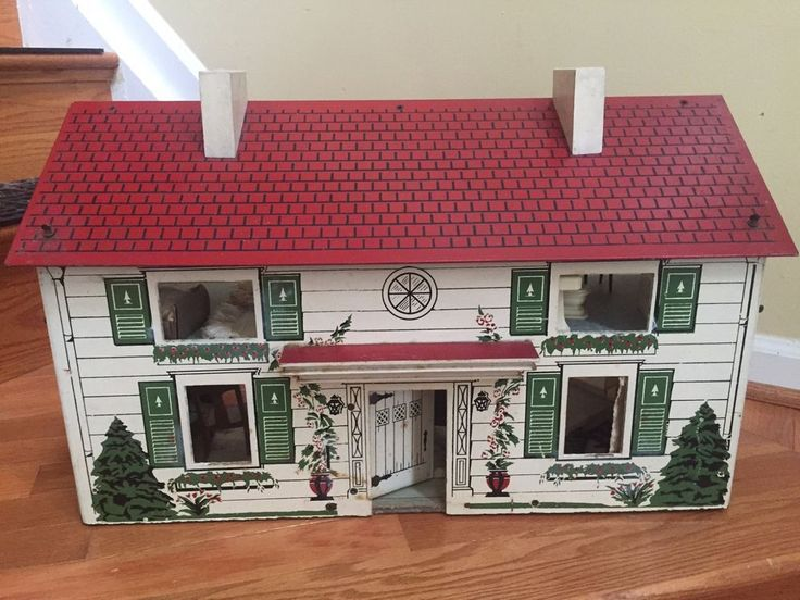 I Couldn T Resist This Vintage Colonial Dollhouse From The: 81 Best RICH/KEYSTONE DOLLHOUSES Images On Pinterest