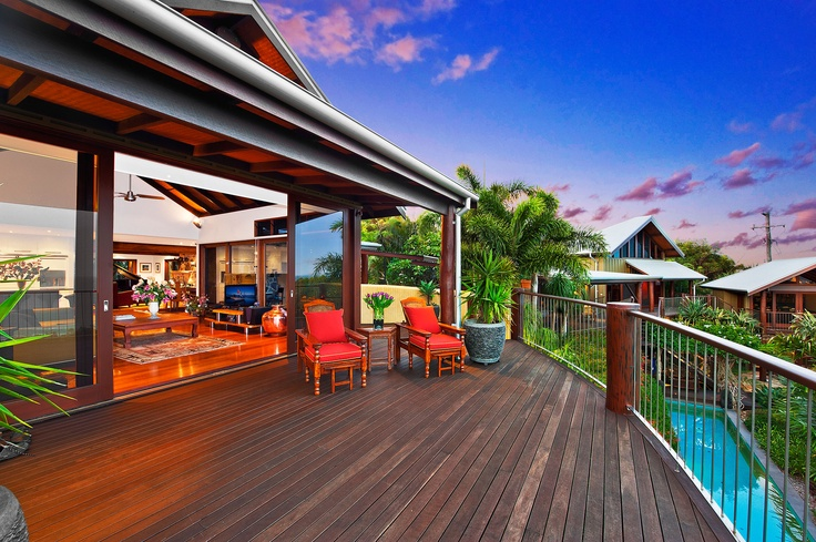 4 Seven Mile - More like a palace than a house, this property has to many features to list. It's the quintessential Byron Bay acreage/beach house and is available for purchase. Call Byron Bay Property Sales for more information.
