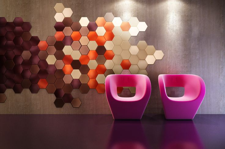 Meridian-Hexagon by Wall Stile
