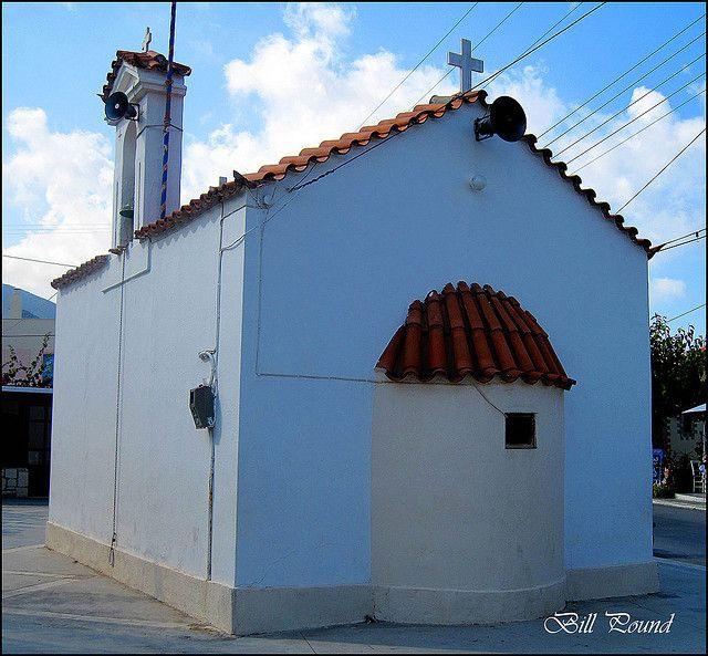 Church in Stalida, Crete
