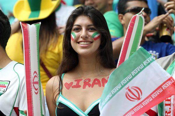 La belleza iraní ganó en las tribunas - Yahoo Deportes