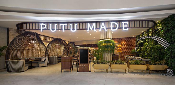 Putu Made at Senayan City, Jakarta