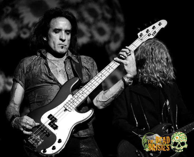 the dead daisies | Getting ready and excited to get on the stage with the Dead Daisies ...