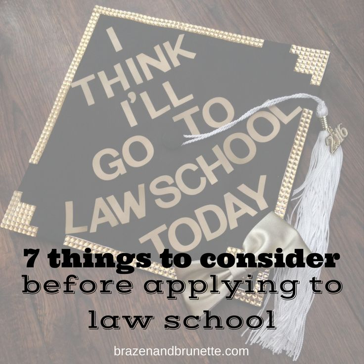 should you go to law school? | brazenandbrunette.com