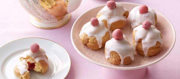 Steven's Bakewell Tart Choux Buns | The Great British Bake Off