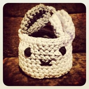 #basket #crochet #crochetxxl #trapillo #handmade