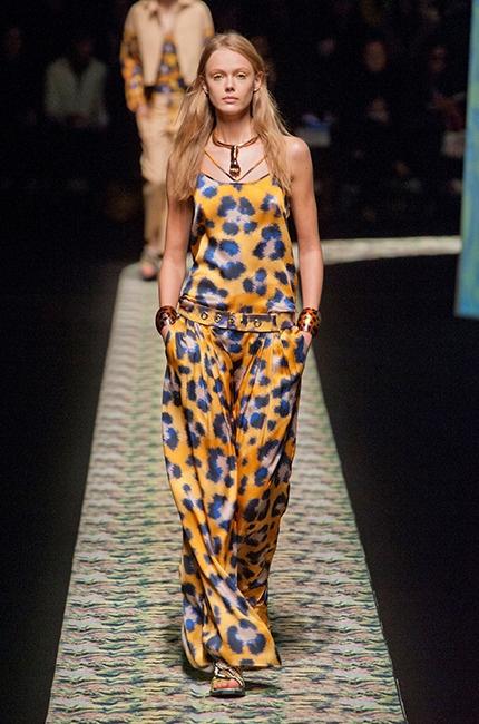 Pattern Maxi Dress by Kenzo