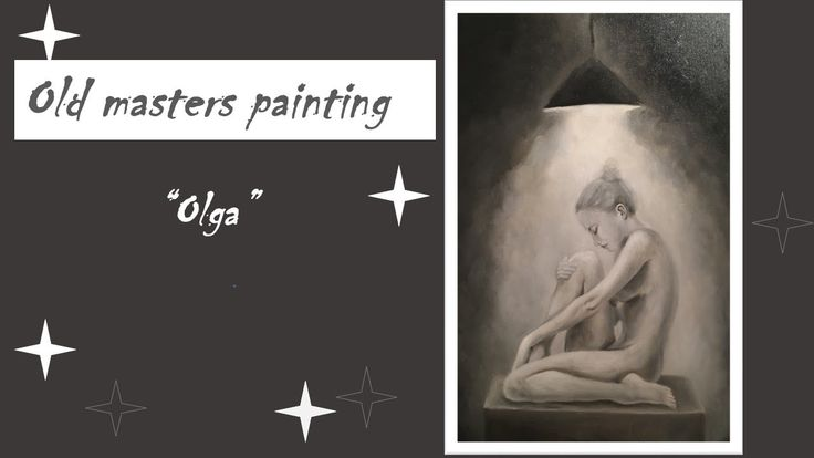 Oil painting / new project / Spotlight / Olga