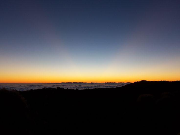 sunset tenerife teide incredible awesome beautiful