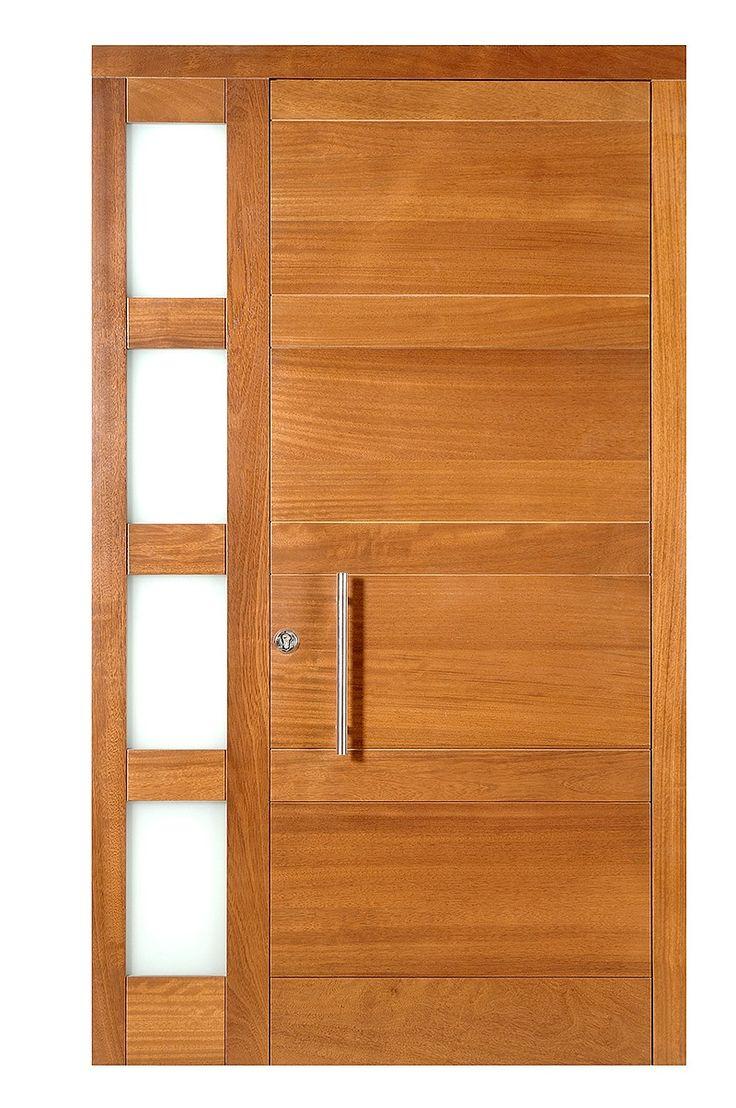 1000 ideas sobre puertas principales de madera en for Puertas principales rusticas madera