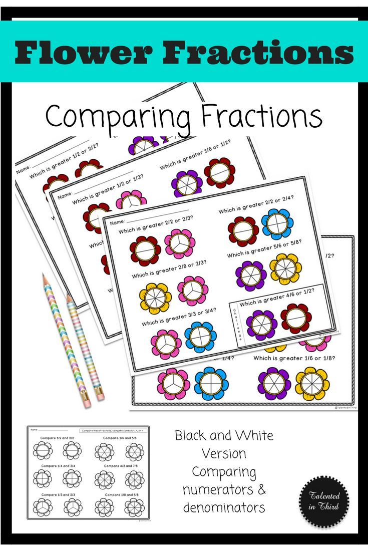 Comparing Fractions Earth Day Spring Style This Is A Fun Differentiated Beginning Approach To Com Comparing Fractions Fractions Third Grade Math Worksheets [ 1102 x 735 Pixel ]