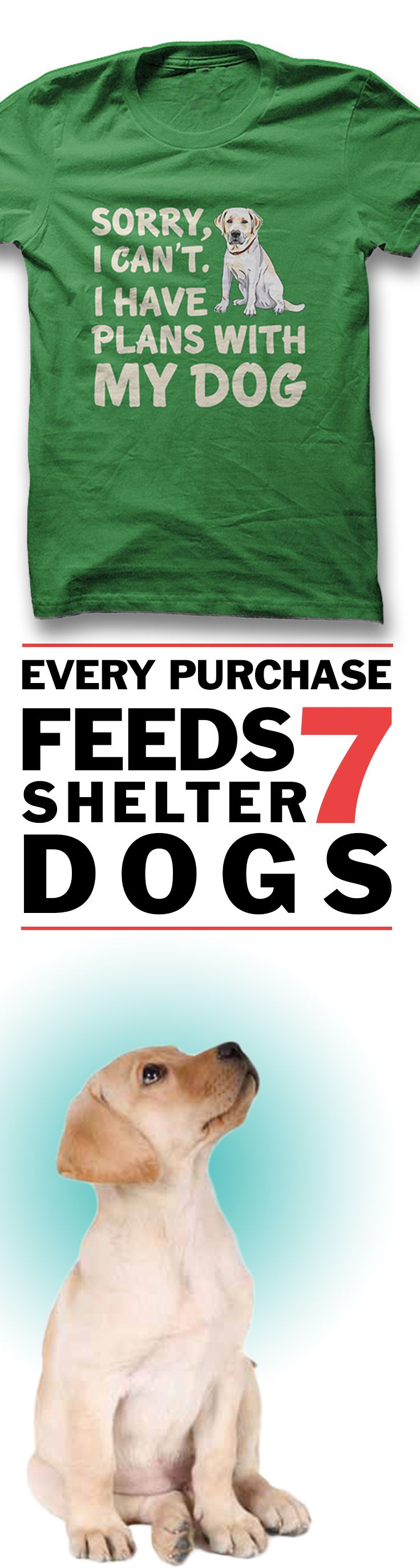 Comment YES if you would wear this!  **Every purchase feeds 7 shelter dogs!