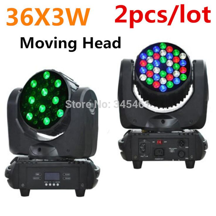 Find More Stage Lighting Effect Information about 2pcs  Professional DJ Lighting 36X3W LED Washer Stage Lighting RGBW 4IN1 LED Zoom Moving Head 108W AC110V 240V Party Stage Light,High Quality light cover,China light up sun glasses Suppliers, Cheap light emitting diode tv from Igo Lighting Nine Co., LTD on Aliexpress.com