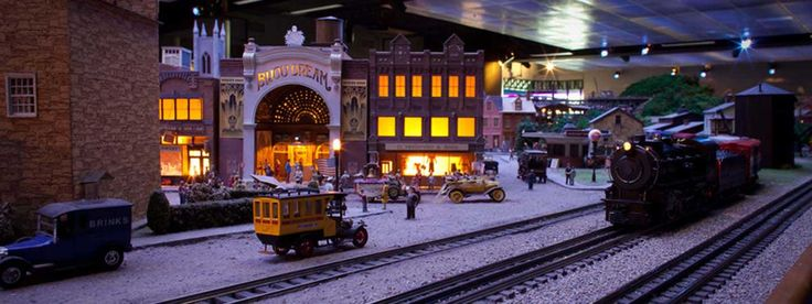 If you're in Pittsburgh, you ought to visit the Carnegie Science Center, and see the Miniature Railroad & Village exhibit. Classic!