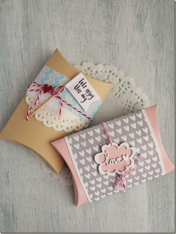Embellished pillow boxes are perfect for favours and gifts! & 340 best Pillow box images on Pinterest | Pillow box Boxes and Gifts pillowsntoast.com