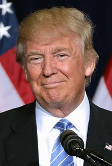 Donald Trump is a germophobe and hates shaking hands. When faced with the inevitable situation of shaking hands, he has an interesting technique of avoiding it; he vigorously pulls the other person close into his body