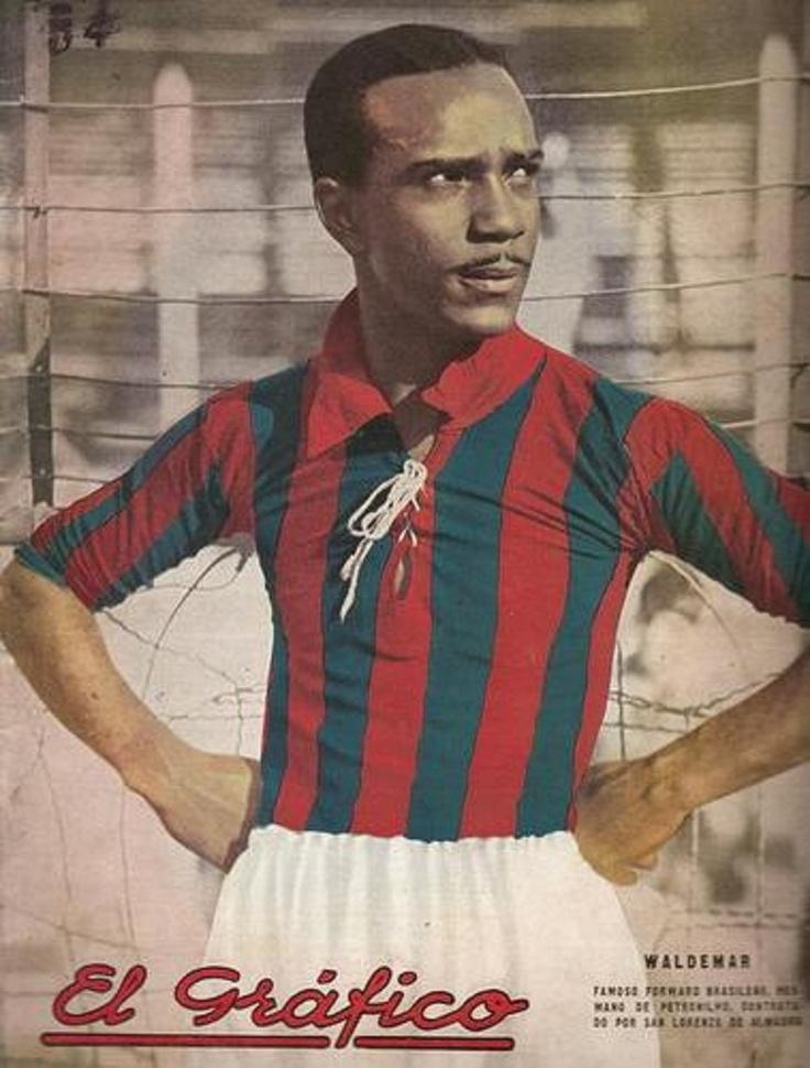 """Portada de la Revista """"El Gráfico"""" 1935, Waldemar Do Brito, Club Atlético San Lorenzo de Almagro."""