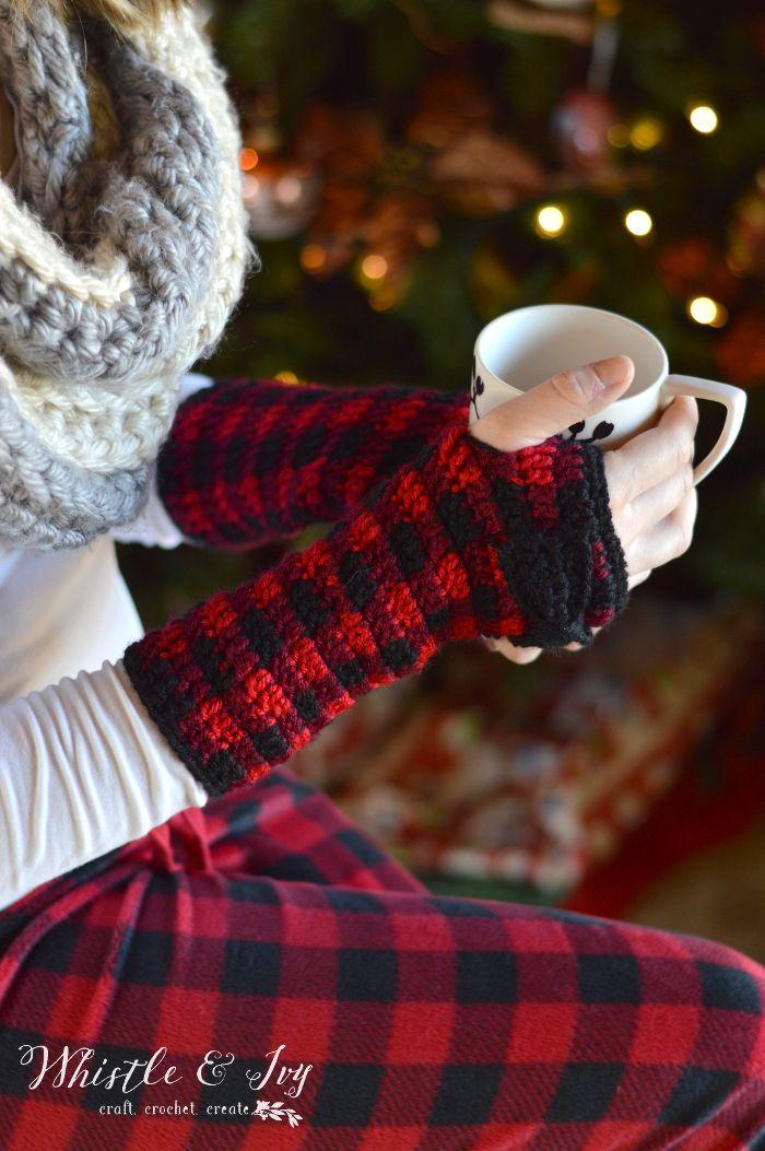25 unique plaid crochet ideas on pinterest crochet winter crochet winter hats and scarf crochet. Black Bedroom Furniture Sets. Home Design Ideas