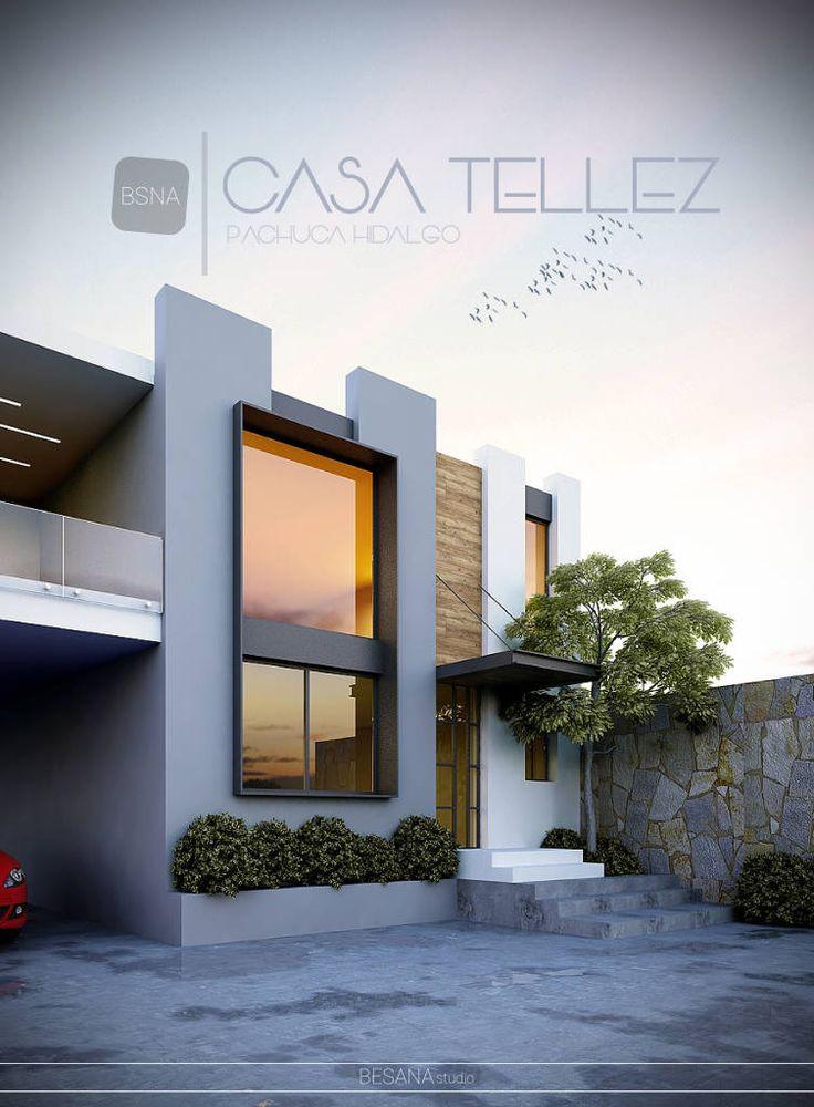 M s de 25 ideas incre bles sobre fachadas modernas en for Remodelacion de casas