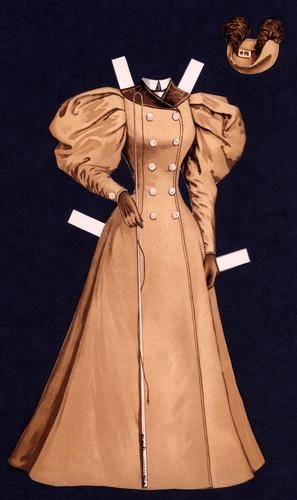 24 Cut Sunday Herald Paper Doll Dress | eBay