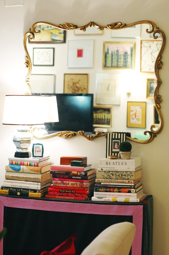 Jenny Komendas Gorgeous Living Room Ornate MirrorVintage