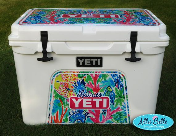 Yeti Roadie orTundra Cooler Wrap Decal.  Custom Yeti Cooler
