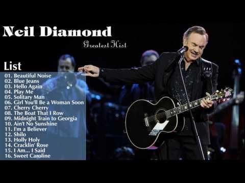 Neil Diamond Greatest Hits Full Album live ~ just had to listen tonight ♡