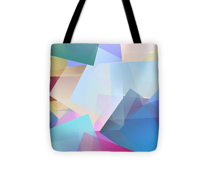 Cubism Abstract 170 Tote Bag #totebag #bag #abstract #colorful #design #art #Lifestyle