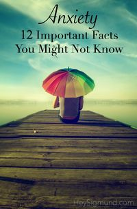 Anxiety: 12 Important Facts Not Many People Know http://www.heysigmund.com/12-important-facts-about-anxiety-you-may-not-know/