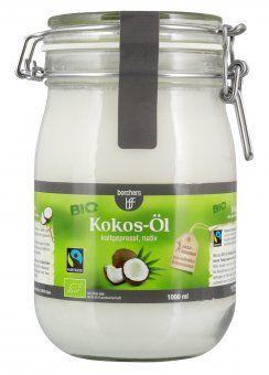 Kaltgepresstes, natives Kokosöl in Bio- und Fairtrade-Qualität von borchers bff - jetzt hier bei lieferello.de online bestellen