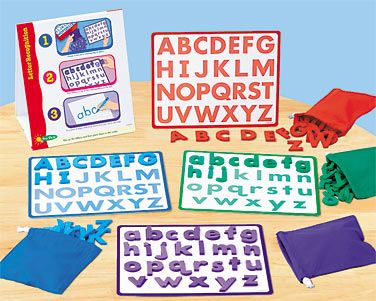 Letter Recognition Instant Learning Center at Lakeshore Learning