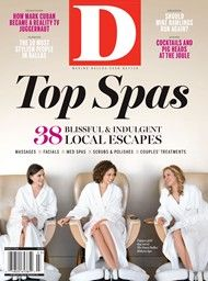 Honored to be one of the Best Hotel Spas in Dallas. Thank you D Magazine!