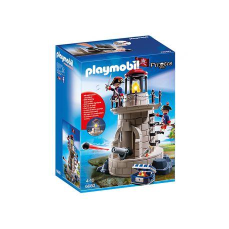 Zestaw Playmobil 6680 - Wieża Wojskowa z Oświetleniem dla dzieci od lat 4 serii Piraci.  Broń wieży za pomocą armaty, z której można wystrzelić pociski. Świat piratów czeka na ciebie.  Sprawdź!  http://www.niczchin.pl/playmobil-piraci/2814-playmobil-6680-wieza-wojskowa-z-oswietleniem.html  #playmobil #piraci #wiezawojskowa #zabawki #niczchin #krakow