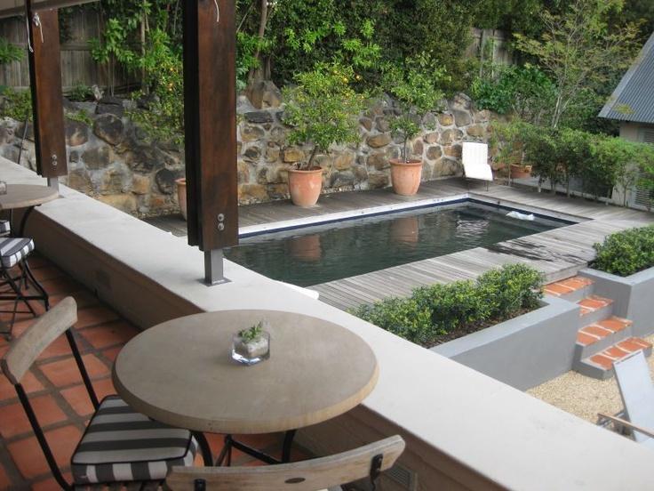 ber ideen zu kleine pools auf pinterest. Black Bedroom Furniture Sets. Home Design Ideas
