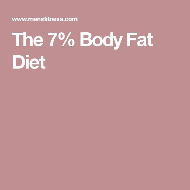 The 7% Body Fat Diet