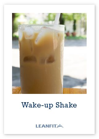 Tip: The recipe calls for cold coffee. You can either make the coffee the night before and cool it in your fridge or you can simply use instant coffee in lukewarm or cold water. Tip: To keep the ice cubes from watering down your coffee as you drink it you can freeze coffee in ice cube trays ahead of time. Wake-Up Shake