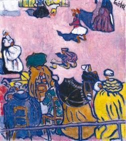 Czóbel Béla - Téren, 1905-1906
